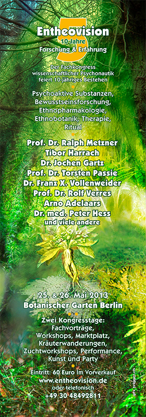Entheovision 5 - Plakat und Flyer